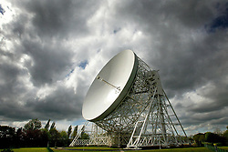 File photo dated 28/04/03 of the Lovell Radio Telescope at the Jodrell Bank observatory in Cheshire. Buildings and structures at Jodrell Bank that played a pioneering role in the early days of radio astronomy have been given heritage protection.