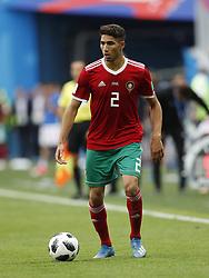 Achraf Hakimi of Morocco