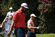 Jon Rahm (ESP) and Rory McIlroy (NIR) during Rd4 of the World Golf Championships, Mexico, Club De Golf Chapultepec, Mexico City, Mexico. 2/23/2020.<br /> Picture: Golffile   Ken Murray<br /> <br /> <br /> All photo usage must carry mandatory copyright credit (© Golffile   Ken Murray)