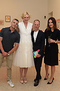 RUSSELL TOVEY, GWENDOLINE CHRISTIE; SIMON OLDFIELD,  ELIZABETH DAY,  RA & Pin Drop Short Story Award, presented by Gwendoline Christie who also gives a reading. Reception at the RA Schools for the launch the new book A Short Affair.