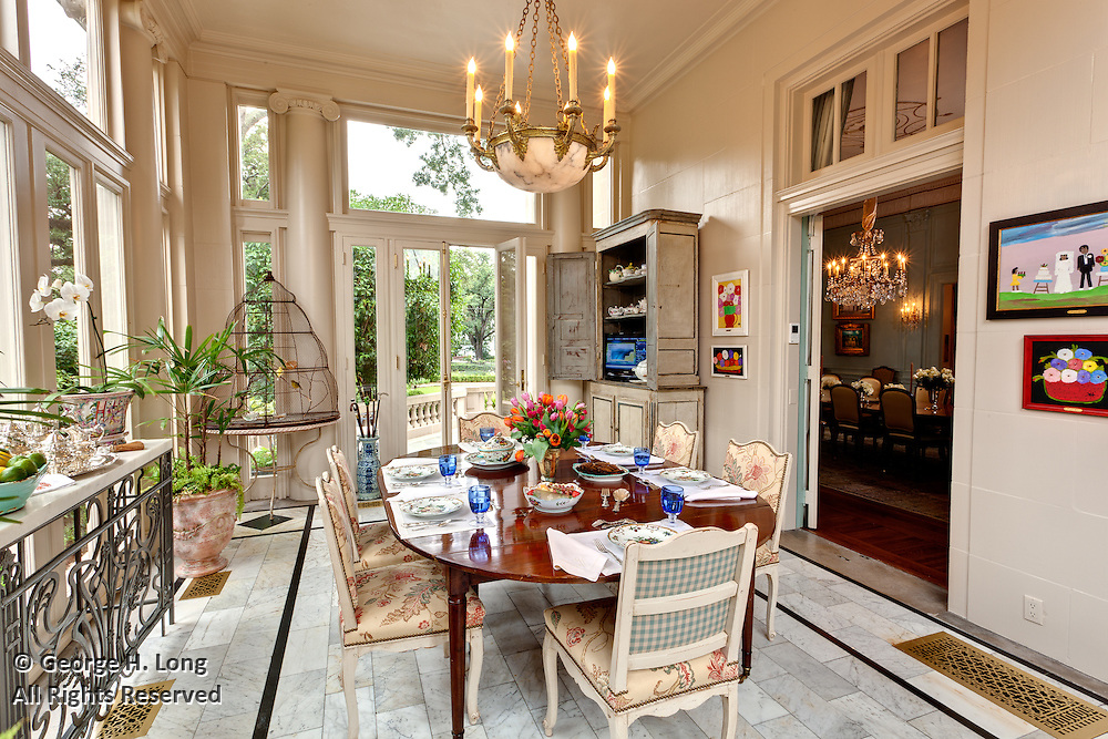 The home of Jennifer and Fred Heebe; 5531 St. Charles Avenue, New Orleans