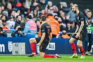 GOAL Andrej Kramarić (Croatia) celebrates his goal during the UEFA Nations League match between England and Croatia at Wembley Stadium, London, England on 18 November 2018.