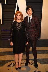 Christina Hendricks and Geoffrey Arend attending the 2019 Vanity Fair Oscar Party hosted by editor Radhika Jones held at the Wallis Annenberg Center for the Performing Arts on February 24, 2019 in Los Angeles, CA, USA. Photo by David Niviere/ABACAPRESS.COM