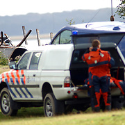 Lijk gevonden in uitgebrande boot Zilverstrand Almere
