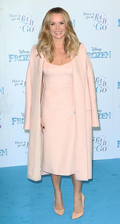 Amanda Holden, Frozen Sing-Along - VIP film screening, Royal Albert Hall, London UK, 17 November 2014, Photo by Richard Goldschmidt ©under licence to London News Pictures. +44 (0)208 408 0190
