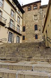 Old town in Vitoria Gastiez near the Plaza del Machete<br /> <br /> (c) Andrew Wilson | Edinburgh Elite media