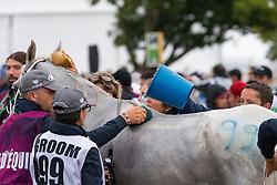 Horse care, Cooling - Endurance - Alltech FEI World Equestrian Games™ 2014 - Normandy, France.<br /> © Hippo Foto Team - Leanjo de Koster<br /> 25/06/14