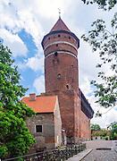 Olsztyn, 2014-05-18. Zamek Kapituły Warmińskiej w Olsztynie.
