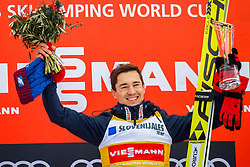 Kamil Stoch of Poland during flower ceremony after the Ski Flying Hill Individual Competition at Day 2 of FIS Ski Jumping World Cup Final 2018, on March 23, 2018 in Planica, Ratece, Slovenia. Photo by Ziga Zupan / Sportida