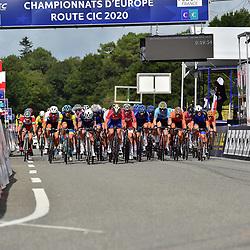28-08-2020: Wielrennen: EK wielrennen: Plouay<br /> De junioren sloten voor Nederland het EK af