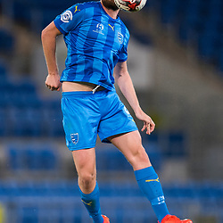 BRISBANE, AUSTRALIA - SEPTEMBER 20: Eoghan Murphy of Gold Coast City controls the ball during the Westfield FFA Cup Quarter Final match between Gold Coast City and South Melbourne on September 20, 2017 in Brisbane, Australia. (Photo by Gold Coast City FC / Patrick Kearney)