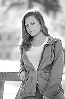 Julia N. senior portrait session.  ©2016 Karen Bobotas Photographer