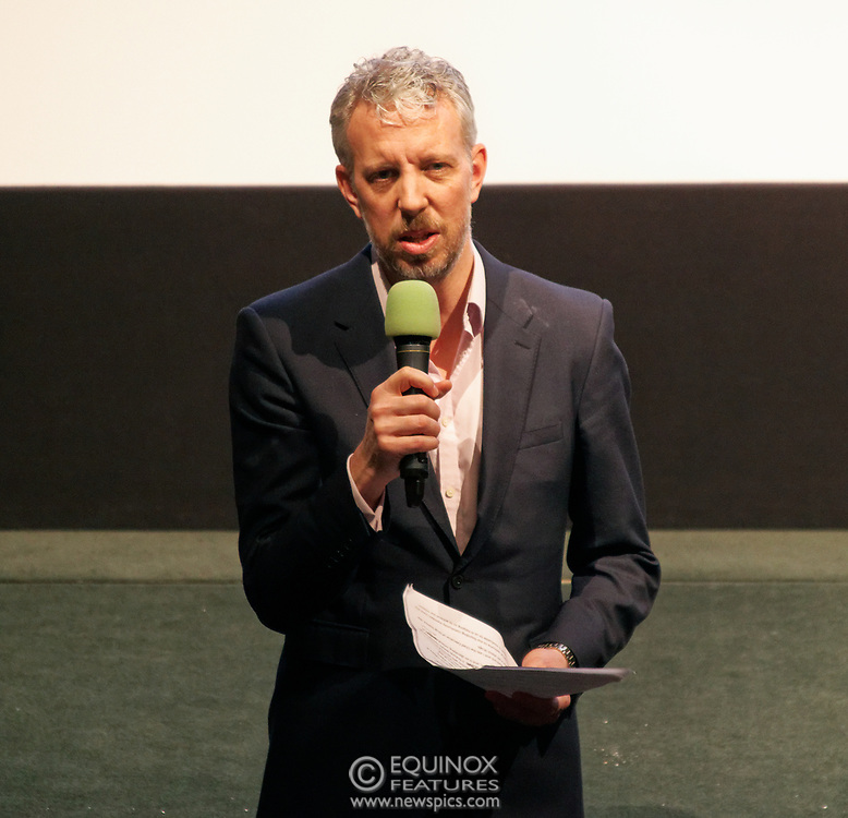 London, United Kingdom - 26 February 2019<br /> DrugScience CEO David Badcock at the screening of film, Magic Medicine at the Regent Street Cinema, Marylebone, London, England, UK. The film follows volunteers receiving experimental treatment with psilocybin, the active ingredient in magic mushrooms, to see if it can help treat long-term depression. DrugScience is a charity researching the medical uses of psychoactive drugs. The film was followed by a Q&A with Professor David Nutt founding chair of DrugScience and Head of the Neuropsychopharmacology Unit in the Centre for Academic Psychiatry in the Division of Brain Sciences, Dept of Medicine, Hammersmith Hospital, Imperial College London. Professor Nutt was formerly chair of the Advisory Council on the Misuse of Drugs.<br /> (photo by: EQUINOXFEATURES.COM)<br /> Picture Data:<br /> Photographer: Equinox Features<br /> Copyright: ©2019 Equinox Licensing Ltd. +448700 780000<br /> Contact: Equinox Features<br /> Date Taken: 20190226<br /> Time Taken: 19361963<br /> www.newspics.com