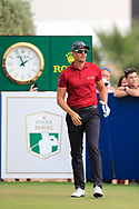 Henrik Stenson (SWE) on the 10th fairway during the 3rd round of the DP World Tour Championship, Jumeirah Golf Estates, Dubai, United Arab Emirates. 17/11/2018<br /> Picture: Golffile | Fran Caffrey<br /> <br /> <br /> All photo usage must carry mandatory copyright credit (© Golffile | Fran Caffrey)