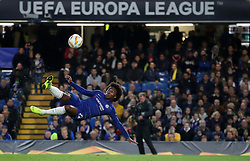 Chelsea's Willian during the UEFA Europa League, Group L match at Stamford Bridge, London.