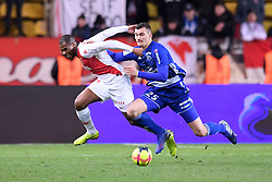 January 19, 2019 - Monaco, France - 25 LUDOVIC AJORQUE (STRA) - 19 DJIBRIL SIDIBE  (Credit Image: © Panoramic via ZUMA Press)