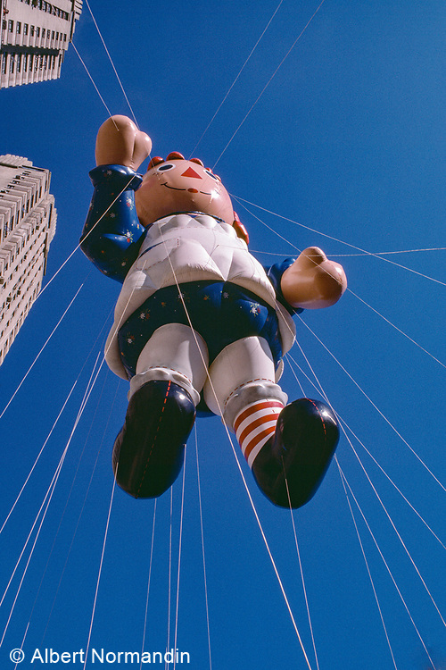 Raggedy Ann Balloon, Macy's Day Parade, New York City, New York, USA, November 1984