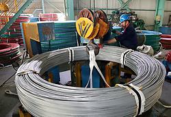 July 6, 2018 - Nanton, Nanton, China - Nantong, CHINA-An iron and steel factory in Nantong, east China's Jiangsu Province. (Credit Image: © SIPA Asia via ZUMA Wire)