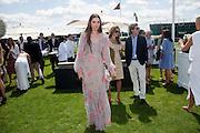 AMBER LE BON, Cartier International Polo. Smiths Lawn. Windsor. 24 July 2011. <br /> <br />  , -DO NOT ARCHIVE-© Copyright Photograph by Dafydd Jones. 248 Clapham Rd. London SW9 0PZ. Tel 0207 820 0771. www.dafjones.com.
