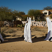 Citizens responded to a call for help to prevent the Westboro Baptist Church picketers from being seen by families mourning the Tucson shooting victims by donning angel costumes with giant wings. The angels were to use the wings to block the view of the funeral goers so no one would see the WBC. The WBC did not show.