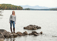 Alex Harris Mink Island photo session.  ©2014 Karen Bobotas Photographer