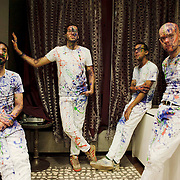 La vida Boheme is an alternative independent  band from Caracas, Venezuela. The group is conformed by Sebastian Ayala,  Daniel De Sousa, Henry D'Arthenay and Rafael Perez. (left to right). They played at the Best Buy Theater.
