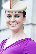 Andrea Tighe, Galway at the Hotel Meyrick Most Stylish Lady event on ladies day of The Galway Races. Photo:Andrew Downes