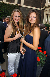 Left to right, BRYONY DANIELS and LADY NATASHA RUFUS-ISAACS at the Tatler Summer Party 2006 in association with Fendi held at Home House, Portman Square, London W1 on 29th June 2006.<br /><br />NON EXCLUSIVE - WORLD RIGHTS