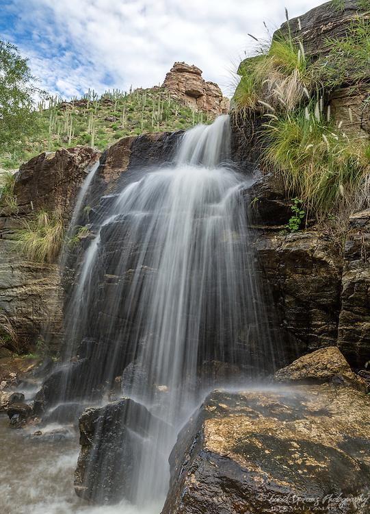 The lower cascades, Seven Falls, Bear Canyon, Tucson