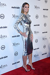 """Sydelle Noel at 2018 Marie Claire """"Image Makers Awards"""" held at the Delilah LA on January 11, 2018 in West Hollywood, CA. Janet Gough/AFF-USA.com. 11 Jan 2018 Pictured: Heidi Klum. Photo credit: MEGA TheMegaAgency.com +1 888 505 6342"""