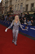Jennifer Ellison.   TV Bafta Awards. 21 April 2002. © Copyright Photograph by Dafydd Jones 66 Stockwell Park Rd. London SW9 0DA Tel 020 7733 0108 www.dafjones.com