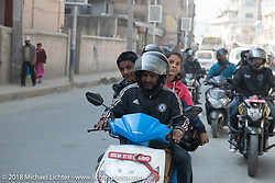 The streets of Kathmandu during ourHimalayan Heroes adventure, Nepal. Monday, November 5, 2018. Photography ©2018 Michael Lichter.