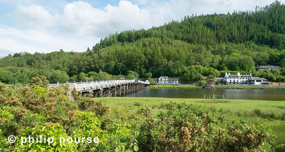 Penmaenpool Bridge, Dolgellau, Snowdonia National Park