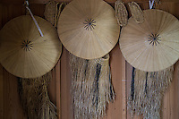 """Kasa is a traditional Japanese hat. <br /> The samurai class of feudal Japan as well as their retainers used several types of jingasa made of straw, leather or copper.  The word<br /> kasa is similar for the Japanese word """"umbrella"""" which is pronounced the same but written differently."""