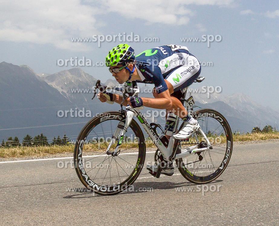 01.07.2012, Innsbruck, AUT, 64. Oesterreich Rundfahrt, 1. Etappe, EZF Innsbruck, im Bild David Arroyo (ESP) during the 64rd Tour of Austria, Stage 1, Individual time trial in Innsbruck, Austria on 2012/07/01