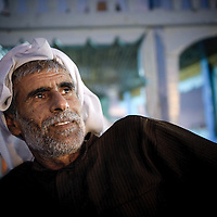 Dubai, United Arabs Emirates, 04 December 2008<br /> Portrait of a docker in the Dubai's creek.<br /> Photo: Ezequiel Scagnetti