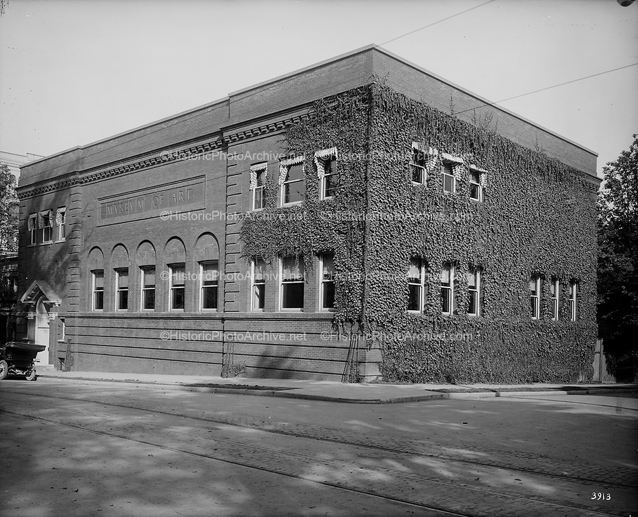 0805-A02.  Art Museum. SW 5th & Taylor, from the SW. 1912, Portland, Oregon