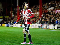 Brentford FC's Jota during the Sky Bet Championship match between Brentford and Sheffield Wednesday at Griffin Park, London.<br /> 21/10/2014.<br /> Picture by Mark D Fuller.