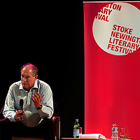 Will Hutton<br /> On stage at the Stoke Newington Literary Festival. 7 June 2015<br /> <br /> Picture by David X Green/Writer Pictures