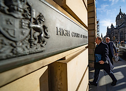 Edinburgh, Scotland, UK. 20 March, 2020.  Alex Salmond arrives at the High Court in Edinburgh on day ten of his trial. Iain Masterton/Alamy Live News