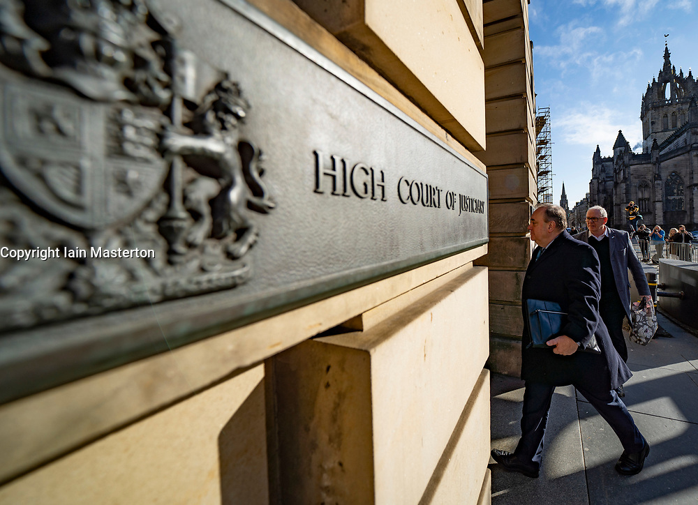 Edinburgh, Scotland, UK. 20 March, 2020.  Alex Salmond arrives at the High Court in Edinburgh on day ten of his trial. Iain Masterton/Alamy Live News