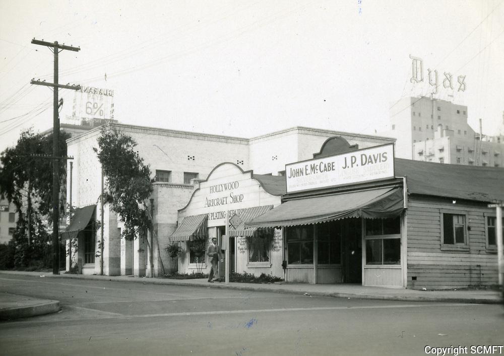 1930 W corner of Selma Ave. & Cosmo