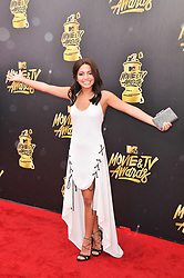 Isabela Moner at the 2017 MTV Movie And TV Awards held at The Shrine Auditorium on May 7, 2017 in Los Angeles, California.<br /><br />(Photo by Sthanlee Mirador) *** Please Use Credit from Credit Field ***