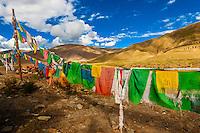 Near the Tombs of the Tibetan Kings and Riwo Dechen Monastery, Qonggyai, Tibet (Xizang), China.