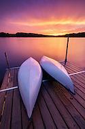 Dramatic light after the storm<br /> Vaughn Lake ~ Glennie, Michigan