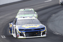 July 22, 2018 - Loudon, New Hampshire, United States of America - Chase Elliott (9) battles for position during the Foxwoods Resort Casino 301 at New Hampshire Motor Speedway in Loudon, New Hampshire. (Credit Image: © Justin R. Noe Asp Inc/ASP via ZUMA Wire)