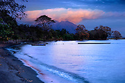 Nicaragua / Isla de Ometepe / Maderas Volcano / Lake Nicaragua / Sunset