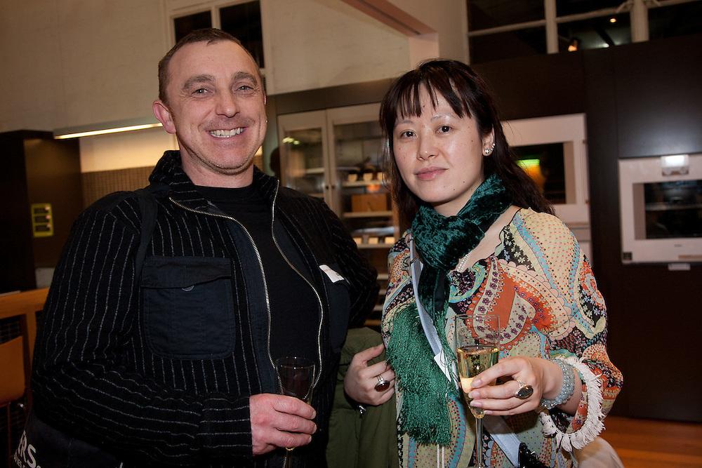 28 July 2011, Melbourne: Images from Gaggenau Product Launch event at Sampford IXL showroom.?Mark Florissen, Ellen Pan.?Photo: Joseph Feil