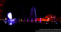 Kew Gardens Light Walk  31st December 2016<br /> <br /> Images taken by Richard Washbrooke Photography