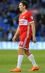 Stewart Downing of Middlesbrough- Mandatory by-line: Nizaam Jones/JMP - 17/02/2018 -  FOOTBALL - Cardiff City Stadium - Cardiff, Wales -  Cardiff City v Middlesbrough - Sky Bet Championship